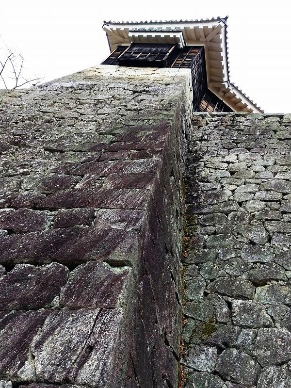 伊予松山城石垣