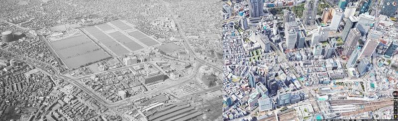西新宿の今昔