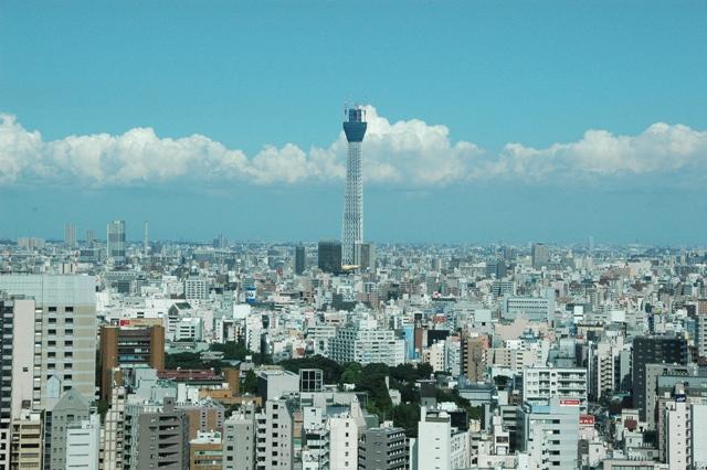 文京シビックセンター展望台からの眺め 文京区役所より引用