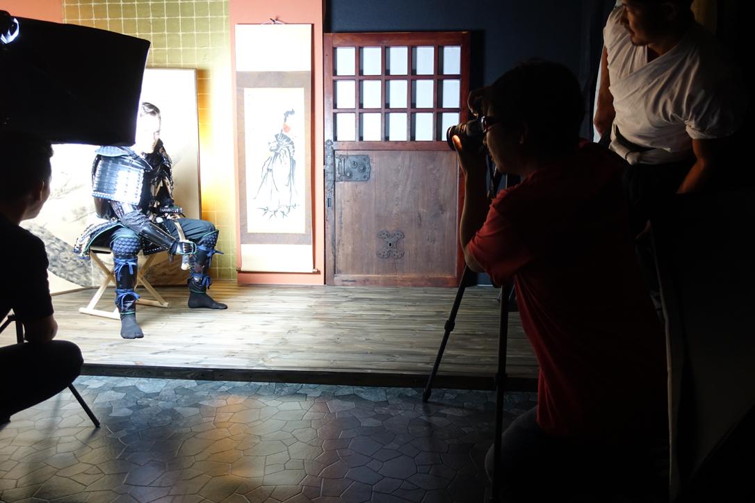 渋谷に来れば誰でも侍に ~Samurai Armor Photo Studio~【連載:アキラの着目】