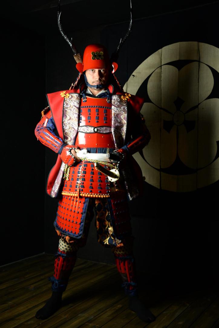 真田信繁「赤備え」 Samurai Armor Photo Studio HPより引用