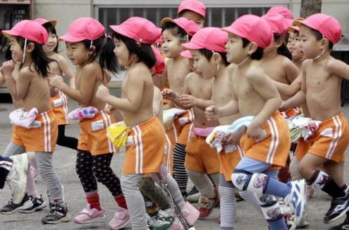 日媒:中国孩子为何没日本孩子强壮