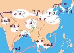 佛教史:佛教的东传
