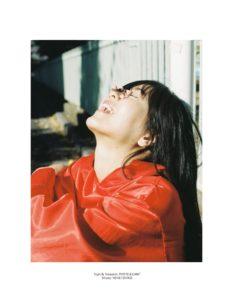 组图:日本模特拍摄唯美大片 演绎春季东京复古风情