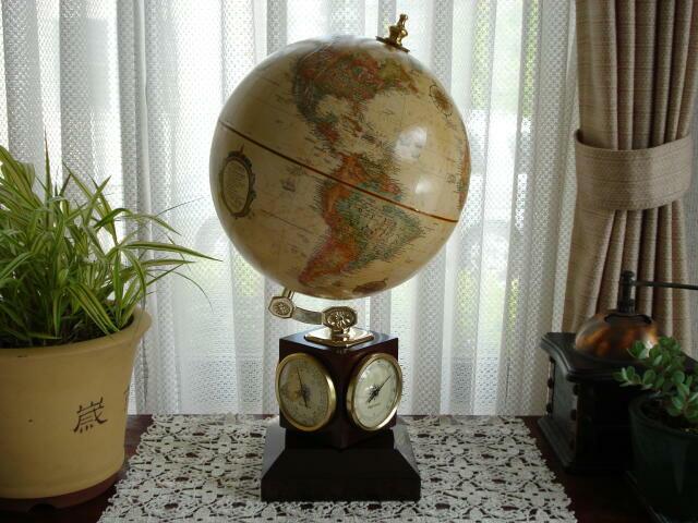 The WEATHER WATCH(ウェザーウォッチ) - 地球儀専門店(GLOBE SHOP TOKYO)HPから引用