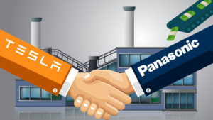 松下将和美国特斯拉合作 在中国共同发展电动汽车业务