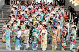 助力2020东京奥运 代表各国的100套和服公开