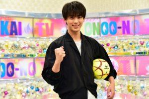 竹内凉真就任俄罗斯世界杯TBS直播大使 曾为足球少年