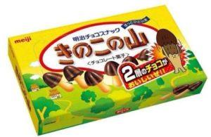 """明治零食""""蘑菇山""""成功注册立体商标"""