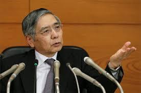 日本央行行长黑田东彦:日本实际利率处于负值,自然利率可能在零左右