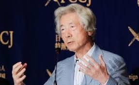小泉纯一郎批日本政府核电站方针 称其费钱又危险