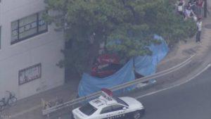 日本一位90岁老妪驾车冲上人行道 共致6人受伤