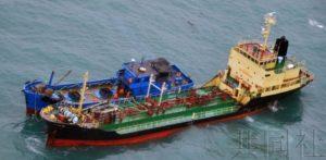 """日本政府掌握的朝鲜海上""""倒货""""事例骤减"""