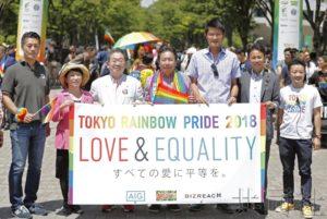 枝野幸男等参与游行呼吁扩大对LGBT理解