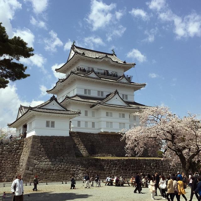 小田原城の復興天守
