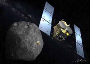 """日本探测器""""隼鸟2号""""将抵达小行星 采集岩石样本"""