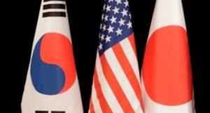 日美韩拟在美朝首脑会谈后立刻举行外长会谈
