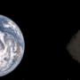 """钻石小行星其实黑漆漆 日本宇航机构公布""""龙宫""""首张全彩照片"""