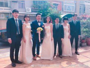 平野美宇当伴娘出席中国教练婚礼 中国美女恩师助日本天才崛起