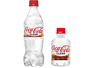 日本推出 Coca-Cola Clear 透明可口可乐
