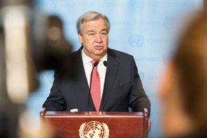 日媒:联合国秘书长拟出席长崎核爆纪念活动,推动核裁军