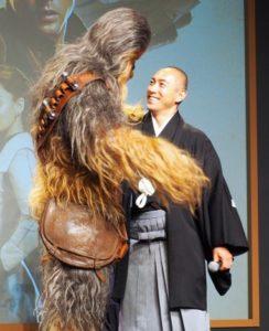 组图:《星球大战外传:索罗》在日开记者会 市川海老藏嘉宾出席