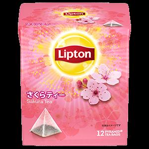 立顿 风味茶系列 期间限定樱花花茶