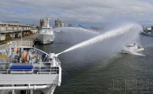 海保与水产厅为取缔可疑外国渔船实施联合训练