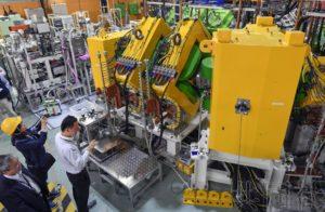 日本理化学研究所首次公开新元素分离器