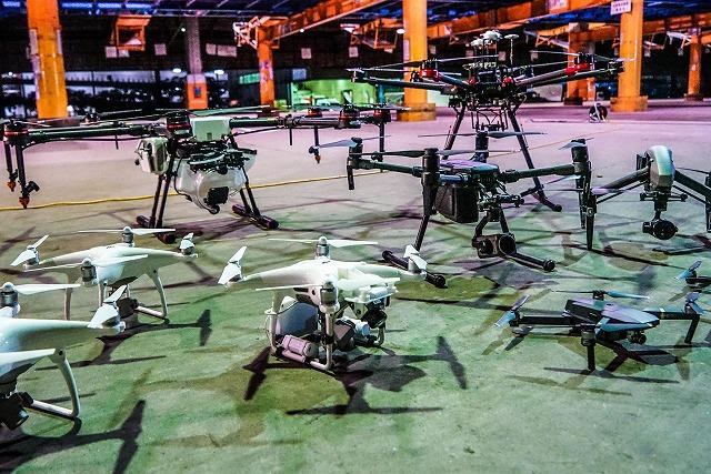 世界最大級の全天候型ドローン飛行場 ドローンスクールジャパン東京ベイエリア校|Drone School Japan TOKYO BAYAREA 公式HPから引用
