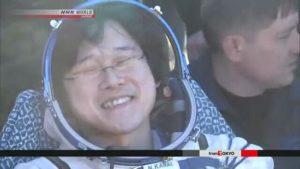 日本宇航员金井宣茂返回地球 系海上自卫队医生