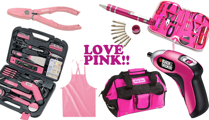 ピンクでかわいい女子用DIYグッズ(大工セット)【連載:アキラの着目】
