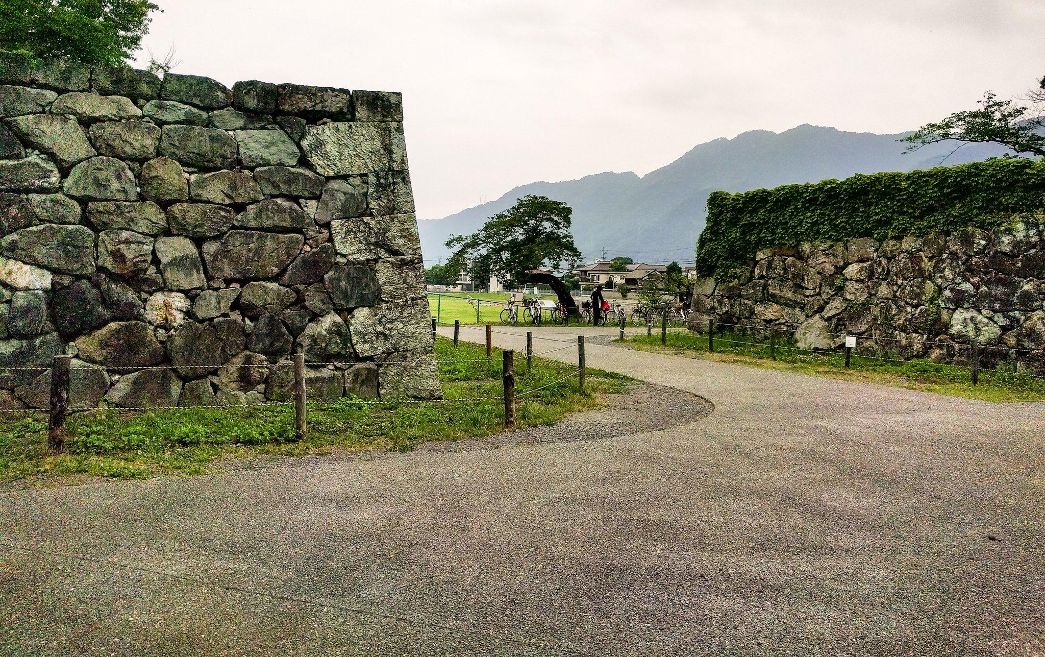 上田城二の丸北虎口