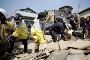 支援灾区西日本3天涌入4万义工包括男星