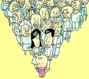 中日共同应对老龄化:2060 年中国人口负增长率将超日本