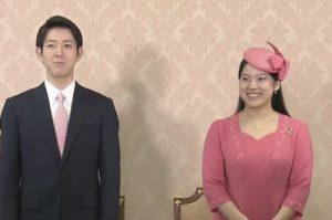 日本绚子公主与平民未婚夫会见记者 求婚细节曝光