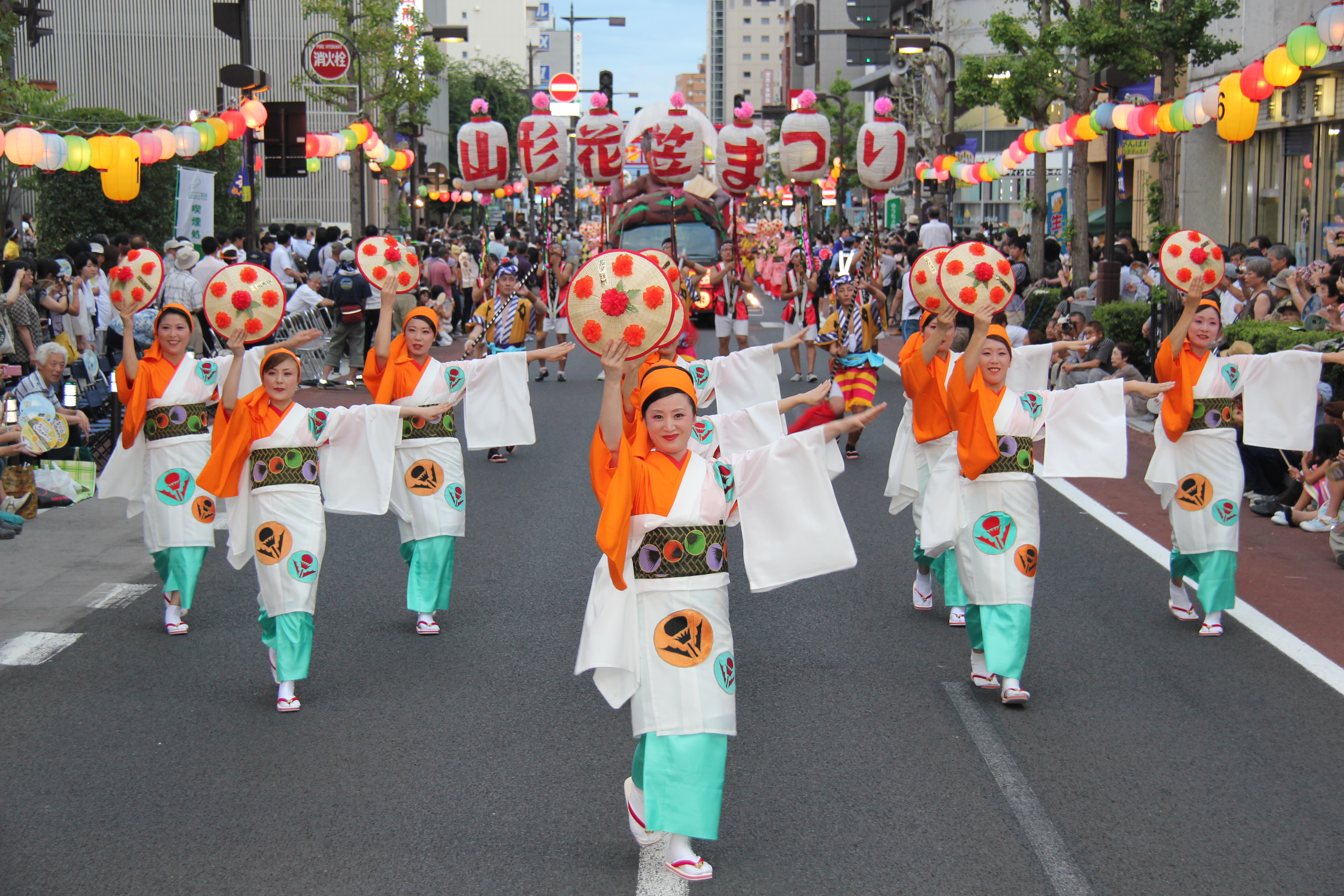 山形花笠祭り 画像提供:山形県花笠協議会
