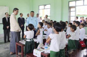 日本将在缅甸修复更多学校 支援罗兴亚人返乡