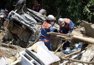 中国驻日使馆与华企向暴雨灾情捐款2480万日元