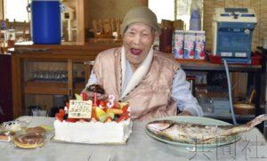 福冈市115岁女性田中KANE成为日本最长寿老人