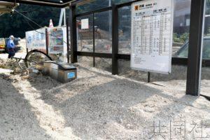 西日本暴雨受灾停运铁路两成未恢复全线通车