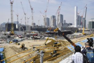 东京都公开奥运场馆及奥运村建设进展