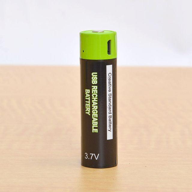 充電器不要!USBで充電可能な乾電池【連載:アキラの着目】
