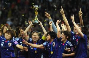 日本队夺得U20女足世界杯冠军