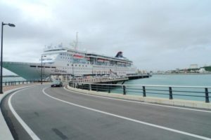 冲绳旅游机构拟对游轮乘客征收港口使用费