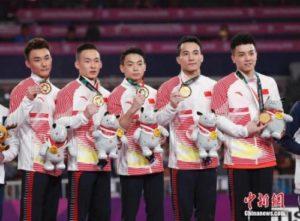 与日本一队相争,中国体操男团还能夺冠吗?