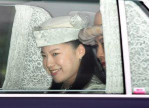 日皇族绚子订婚了10月婚后脱离皇籍