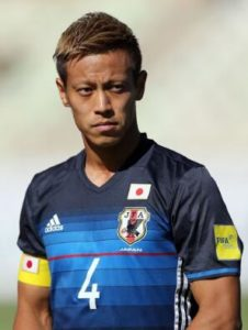 日本球员本田圭佑加盟澳超墨尔本胜利