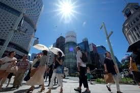 日本近3个月中暑送医人数刷新全年最高纪录