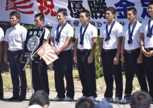 甲子园亚军金足农高汇报战绩 感谢约2亿日元捐款
